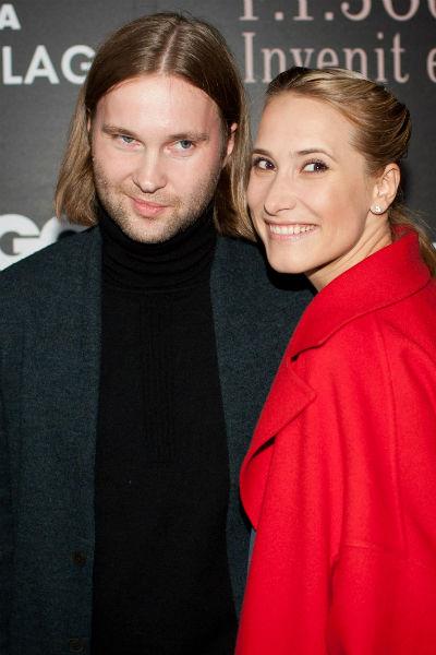 Марика Кравцова с супругом