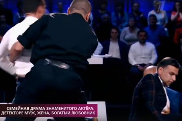 Драка Марка и Вячеслава