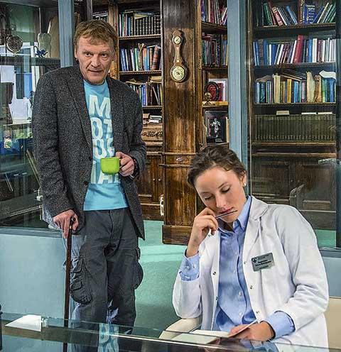 Герой Серебрякова в сериале «Доктор Рихтер» не любит детей
