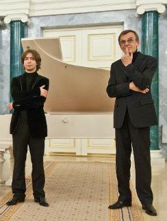 Владимир Свердлова-Ашкенази и Георгий Тараторкин