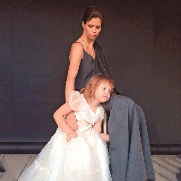 Наша героиня воспитывает 5-летнюю дочь Юлианну