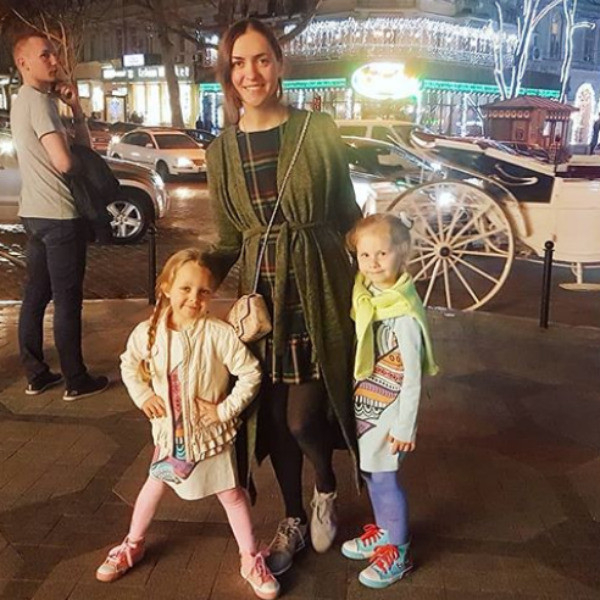 Сейчас семья находится в Одессе