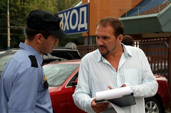 Режиссер Дмитрий Петрунь на съемочной площадке