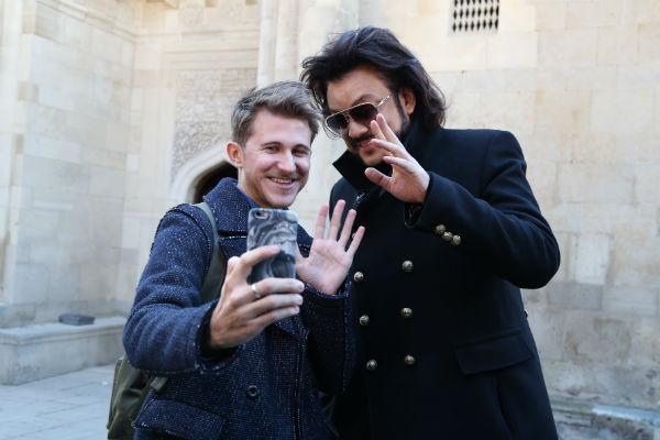 Филипп Киркоров встретился с поклонником из Санкт-Петербурга