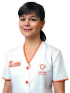 Наталья Калашникова, врач-дерматокосметолог, директор по научной работе Сети клиник «ЛИНЛАЙН»