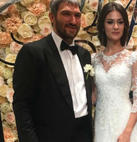 Овечкин с женой свадьба