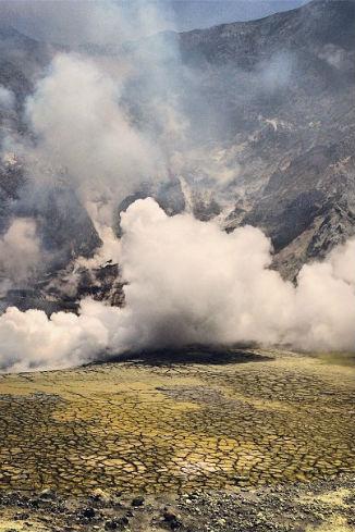 В последние два дня вулкан был беспокоен
