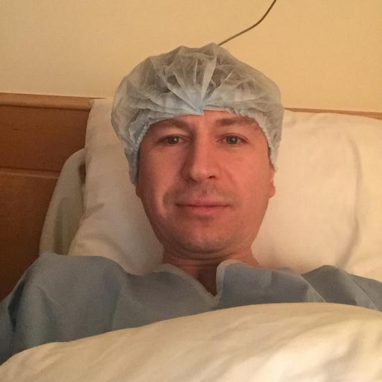 Алексей Ягудин в больнице