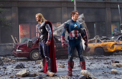 Капитан Америка и Тор готовы дать отпор врагу