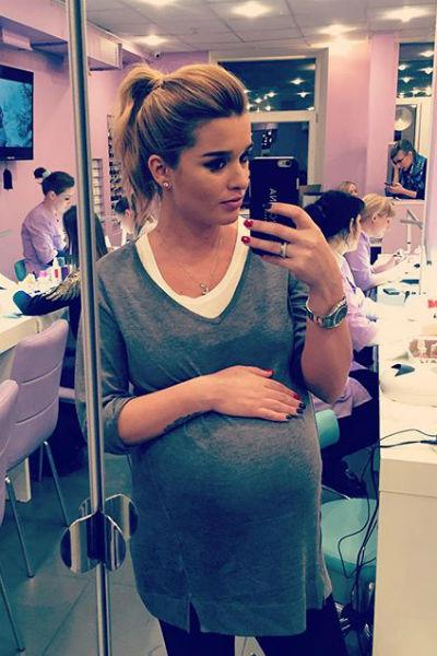 Ксения Бородина вот-вот станет мамой
