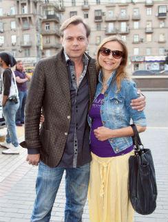 Владимир Левкин с женой Мариной
