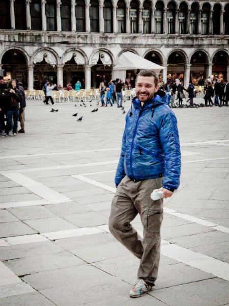Владимир Кристовский на отдыхе в Италии