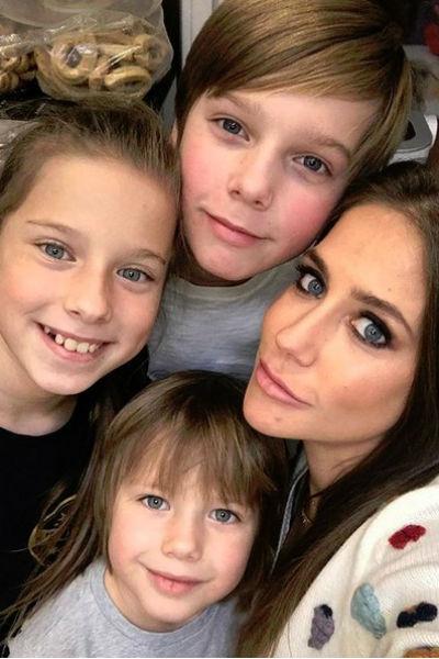Юлия Барановская все свободное время уделяет семье