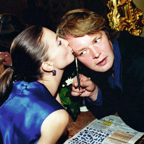 Екатерина с мужем Александром Стриженовым
