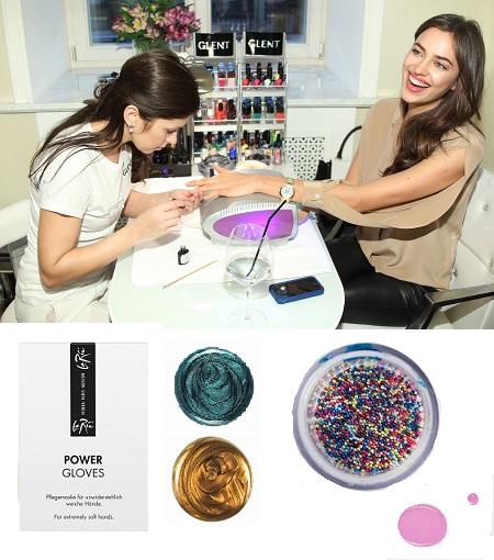 Энергитические перчатки Power gloves, Лак для ногтей Chanel №607,№513, Икорное покрытие для ногтей Ciate caviar