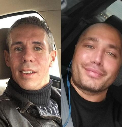 Алексей Панин и Рустам Солнцев