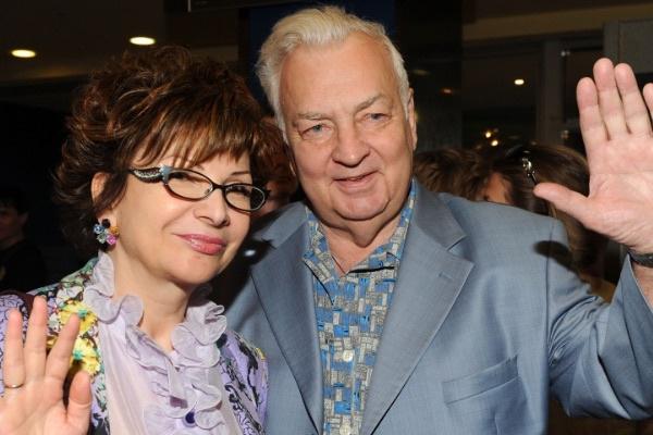Михаил Державин с супругой Роксаной Бабаян