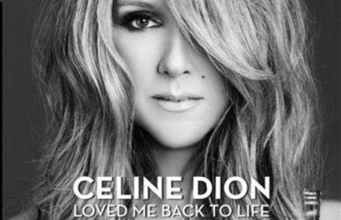 Обложка альбома Селин Дион Loved Me Back To Life
