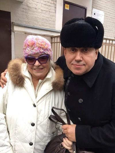 Станислав Садальский и Лидия Федосеева-Шукшина