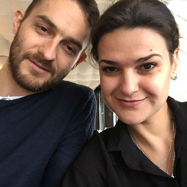 Виктория Райдос с мужем Василием Бойковым
