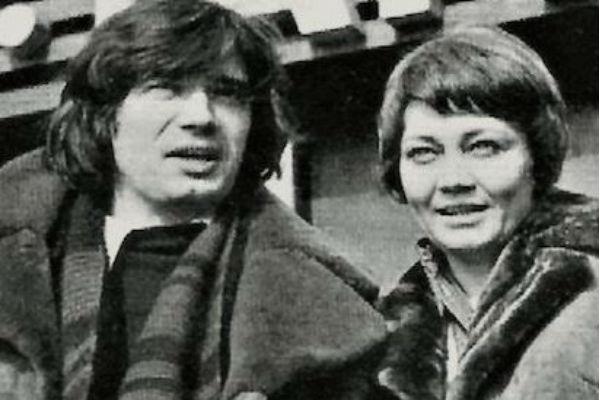 Лариса Лужина с третьем мужем Владимиром Гусаковым