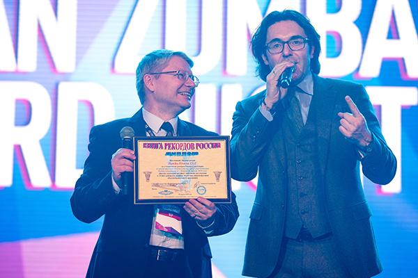 Андрей Малахов лично приехал поздравить участников рекорда