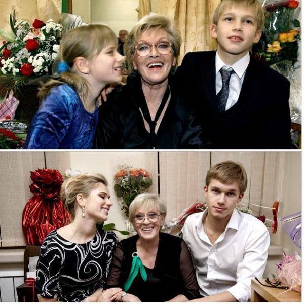 Внучка Алисы Бруновны сравнила, как бабушка выглядела 10 лет назад с тем, какая она сейчас. Артистка практически не изменилась