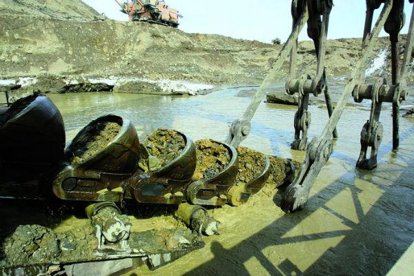 Речки вокруг Бодайбо - как золотоносные жилы