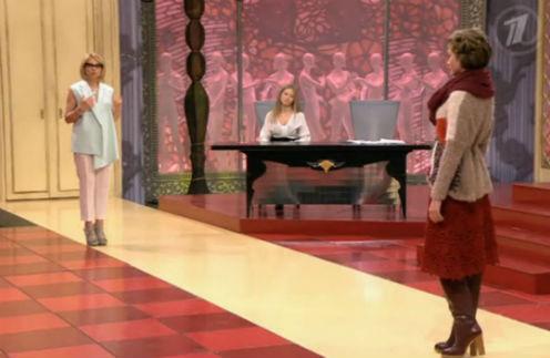 Эвелина Хромченко дает советы героине программы