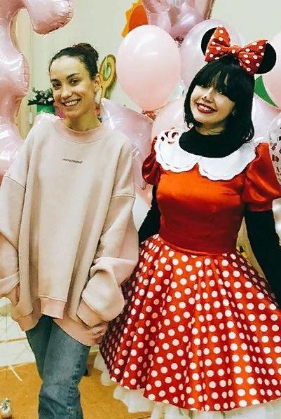 Вика Дайнеко устроила для дочери праздник