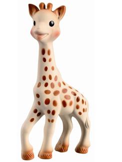 Жираф Софи (800 руб.) из натурального каучука воздействует на все органы чувств ребенка. Такой был у детей Мадонны и Анджелины Джоли, а теперь есть у Лизы