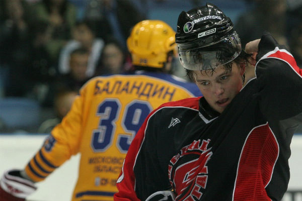 Алексей считался одним из самых перспективных хоккеистов страны