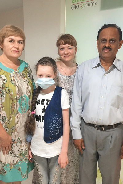 Юлия через «СтарХит» благодарит врачей, подаривших жизнь ее дочери