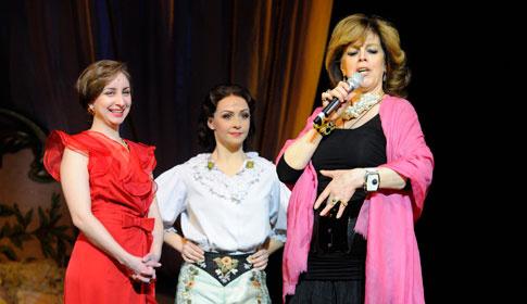 Мастер-класс Казарновской и солистов «Призрака Оперы»