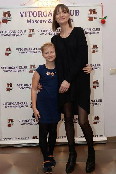 Ксения Бик с дочкой Анфисой