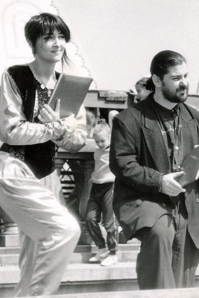 В конце 80-х-начале 90-х Лолита и Цекало были вместе и в жизни, и на сцене - их кабаре-дуэт «Академия» был очень популярен