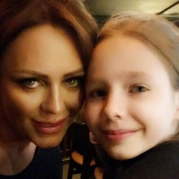Юлия Началова и ее дочь Вера очень близки