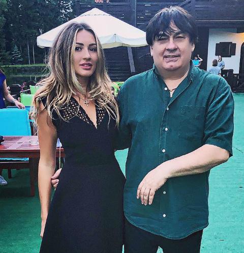 Мишель Серова с отцом