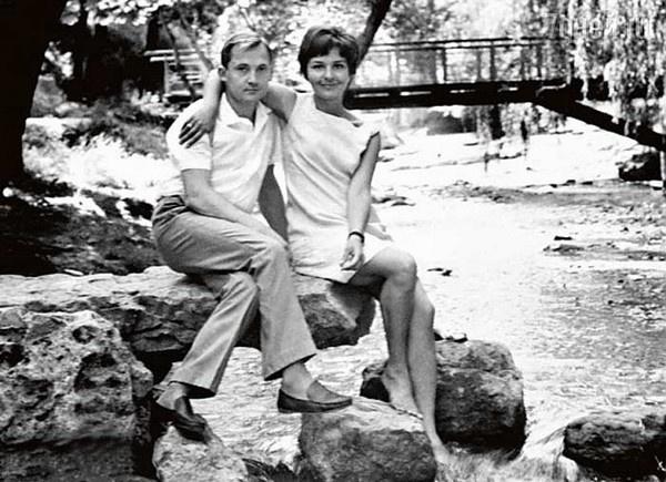 Виктор Павлов со своей женой Татьяной Говоровой