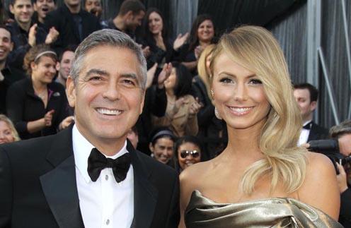 Джордж Клуни и Стейси Киблер