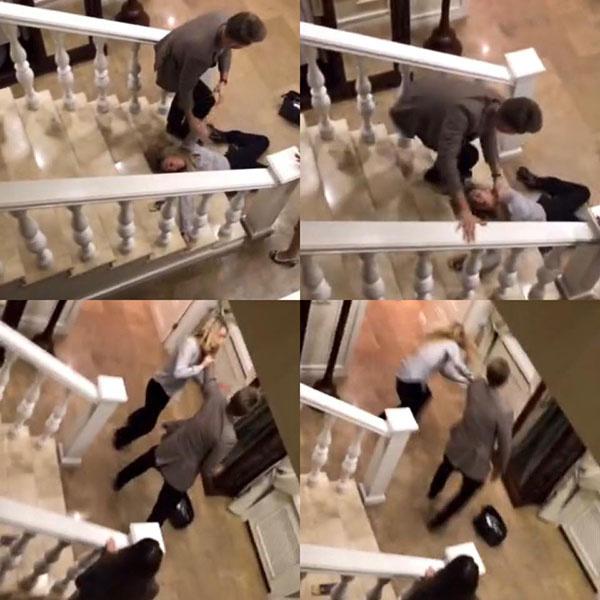 У Юлии есть и раскадровка видео-записи жестокого обращения с ней