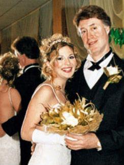 Лариса Черникова с мужем Джеймсом