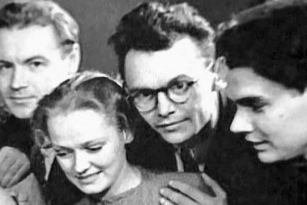 Нина Гребешкова и Леонид Гайдай в молодости