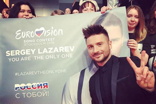 Вся страна поддержала Сергея перед «Евровидением»