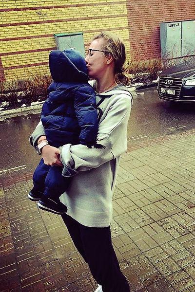 В ноябре 2016-го Ксения родила сына Платона