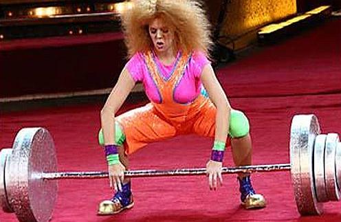 Благодаря навыкам, полученным на проекте «Цирк со звездами», Анастасия Стоцкая не боится испытаний на шоу «Я смогу»