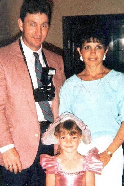 Архивное фото Бритни Спирс с родителями