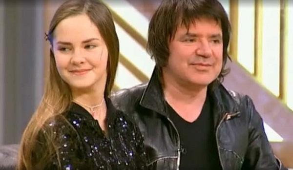 Евгений Осин с дочерью Агнией