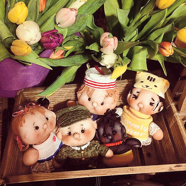 Татьяна Викторовна шьет игрушки уже много лет