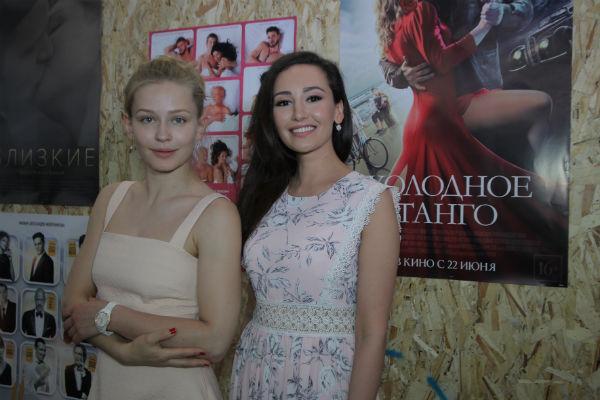 Юлия Пересильд и Анна Пырова